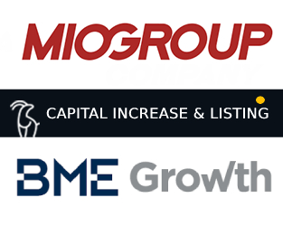 MIO GROUP is listed in BME Growth